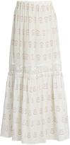 ATHENA PROCOPIOU Summer Morning silk skirt