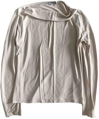 Alexander McQueen Beige Cotton Top for Women