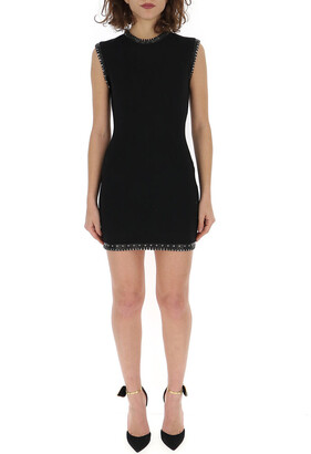 DSQUARED2 Studded Sleeveless Mini Dress