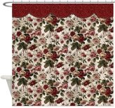 CafePress - Flowery Tapestry - Decorative Fabric Shower Curtain