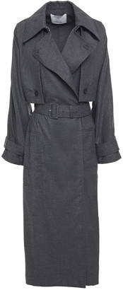 3.1 Phillip Lim Wool-blend Twill Trench Coat