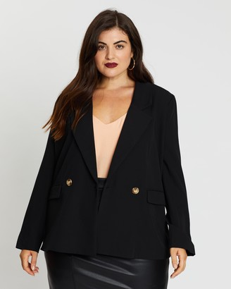 Mika Muse Fair Game Double-Breasted Blazer
