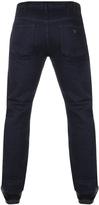 Giorgio Armani Jeans J21 Regular Fit Jeans Blue