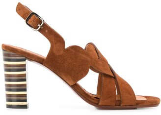 Chie Mihara Balbina 95mm leather sandals