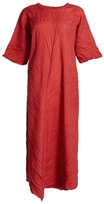 Issey Miyake Tectorum Midi Dress
