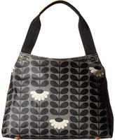 Orla Kiely Wild Daisy Print Classic Zip Shoulder Bag Shoulder Handbags