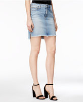 Joe's Jeans High-Low Denim Pencil Skirt