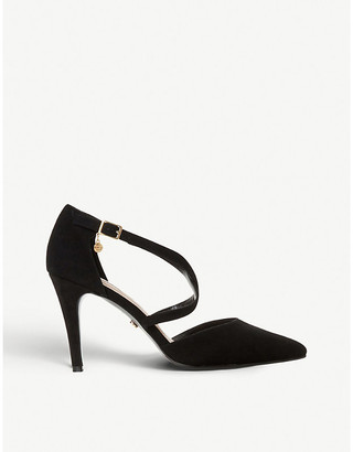 Dune Clancy suede courts
