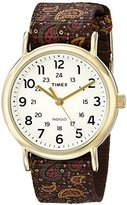 Timex Women's TW2P812009J Weekender Collection Analog Display Quartz Two Tone Watch