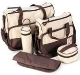 SoHo Designs SOHO Diaper bag with changing pad. 5 pieces set
