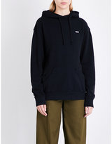 Obey End of World cotton-jersey hoody