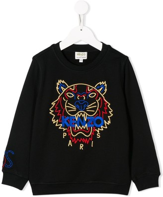Kenzo Kids Embroidered Logo Sweater