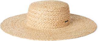 Ralph Lauren Braided Raffia Straw Hat