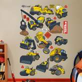 Fathead Tonka Construction Truck Collection Wall Decals