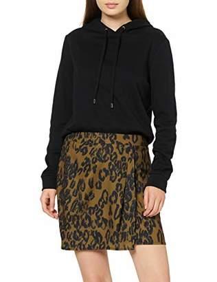 New Look Women's 3882254 Skirt, Green Pattern