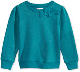 Epic Threads Glitter Bows Sweatshirt, Toddler & Little Girls (2T-6X), Only at Macy's