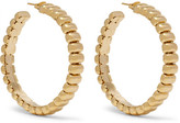Rosantica Atena Gold-tone Hoop Earrings - one size