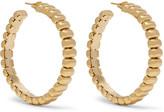 Rosantica Atena Gold-tone Hoop Earrings - one size