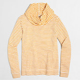 J.Crew Factory Striped funnelneck sweatshirt
