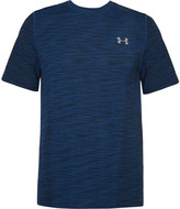 Under Armour Threadborne Seamless Mélange Training T-shirt - Navy