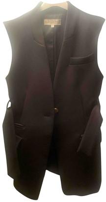 Tara Jarmon Black Linen Coat for Women