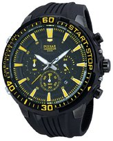 Pulsar Unisex Analogue Watch with Black Dial Analogue Display - PT3509X1