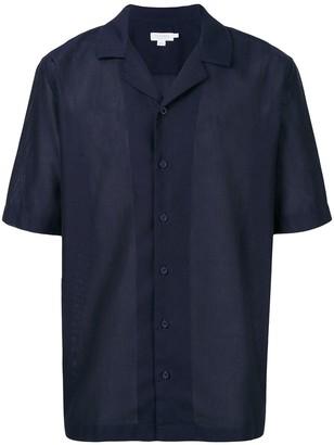 Sunspel Camp Collar Short Sleeve Shirt