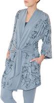 Paper Label Wintour Kimono Robe