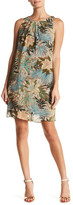 Robbie Bee Sleeveless Floral Dress