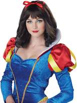 California Costumes Snow White Wig (Brunette)