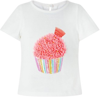 Monsoon Girls Candy Cupcake Top And Skirt Set - Multi