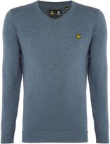 Lyle And Scott V-neck Long Sleeve Jumper