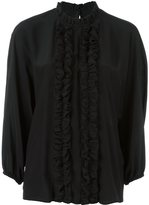 Dolce & Gabbana frill placket blouse