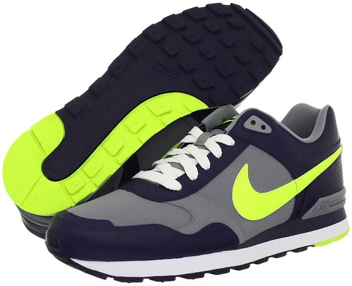 Nike MS78 (Imperial Purple/Stealth/White/Volt) - Footwear
