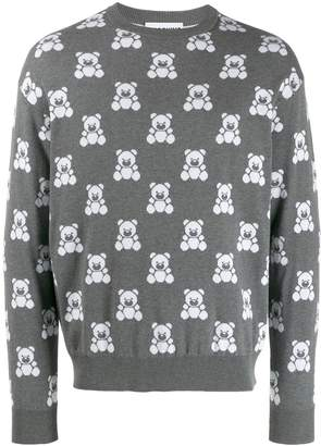 Moschino jacquard teddy bear sweater