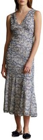 Thumbnail for your product : Polo Ralph Lauren Floral-Print V-Neck Midi Dress