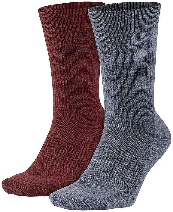 Nike 2-pk. Mens Crew Socks - Extended Size