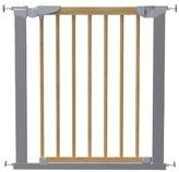 Babydan Avantgarde True Pressure Fit Safety Gate (Beech/Silver) by