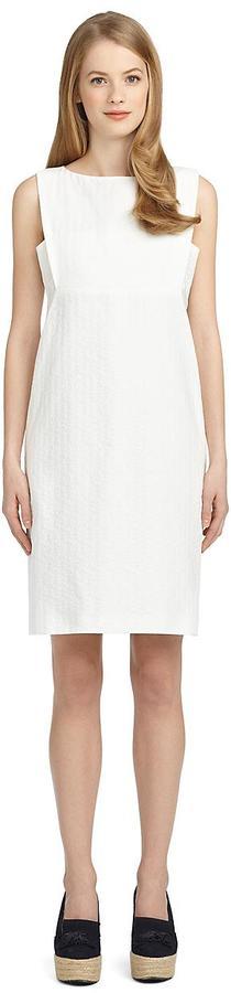 Brooks Brothers Cotton Empire Waist Dress