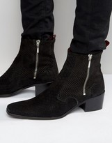 Jeffery West Manero Zip Boot