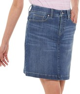 Croft & Barrow Women's Classic Denim Skort