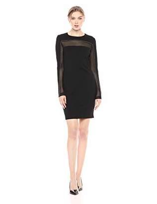 GUESS Women's Long Sleeve Galaxy Dress