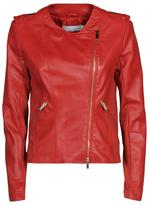 Kaos Red Leather Jacket