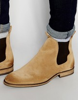 Selected Melvin Suede Chelsea Boots