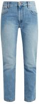 Etoile Isabel Marant Cliff high-rise straight-leg jeans