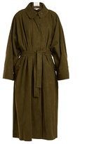 Stella McCartney Emily tie-waist alter faux-suede coat