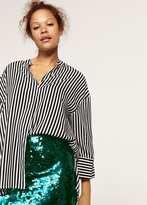 Violeta BY MANGO Sequin skirt