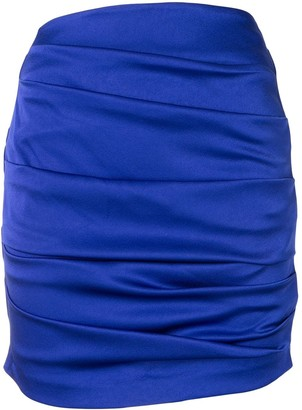 Alex Perry Turner draped mini skirt