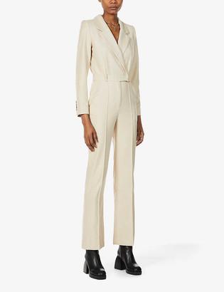 Musier Paris Susan tailored woven jumpsuit