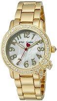 Betsey Johnson Women's Quartz Gold-Toned Casual Watch (Model: BJ00562-04)